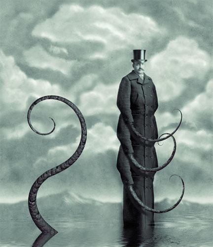 El surrealismo victoriano de Jeffrey Michael Harp